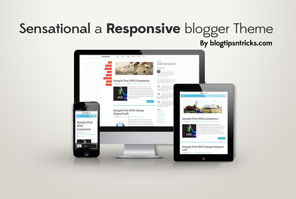 Top 8 responsive blogger template 2013 hand picked for Blogger product review template