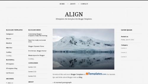 align-blogger-template