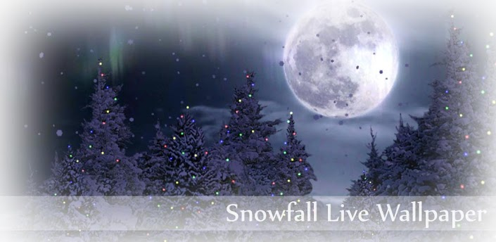 Snowfall Free Live _Wallpaper