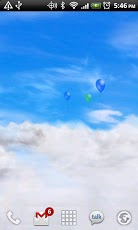 Blue Skies Free Live _Wallpaper