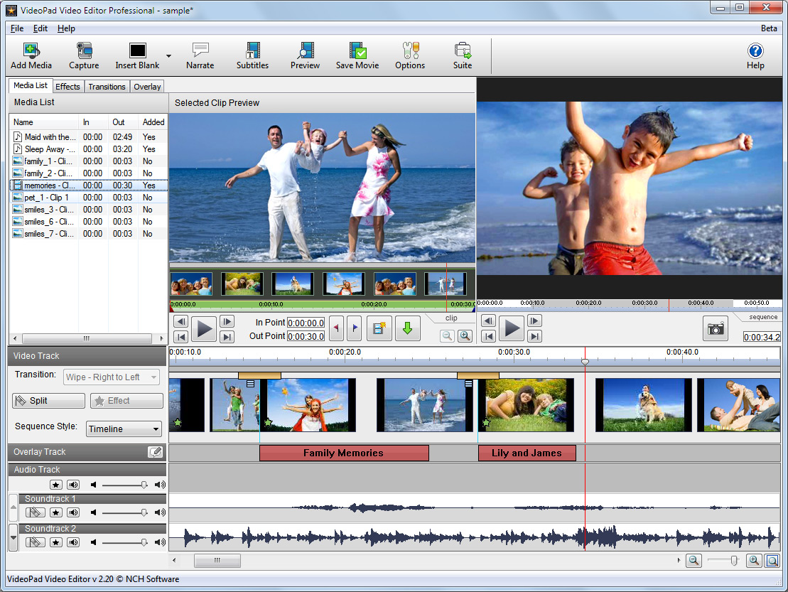 Video editing software free download for windows